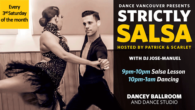 Strictly Salsa Dancey Ballroom