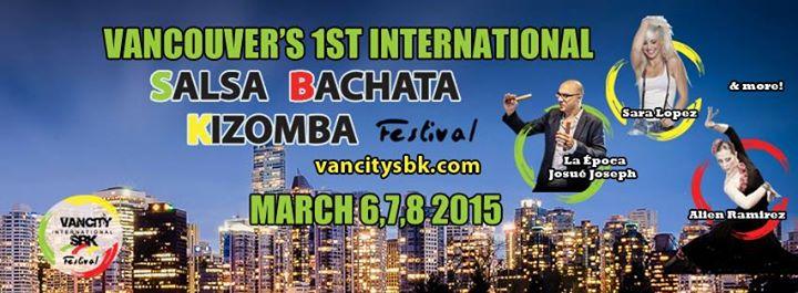 Vancouver International Salsa Bachata Kizomba Festival