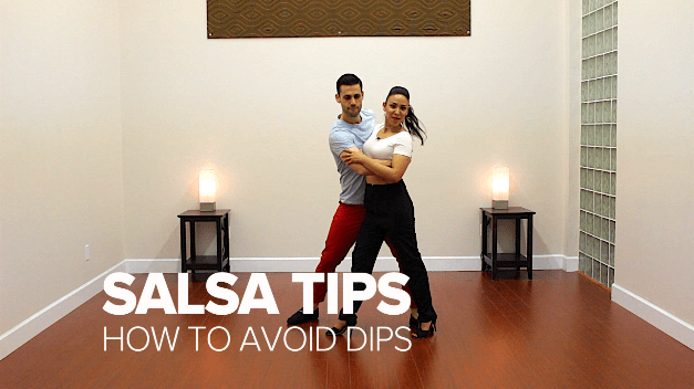 dance dojo salsa tip avoid dips