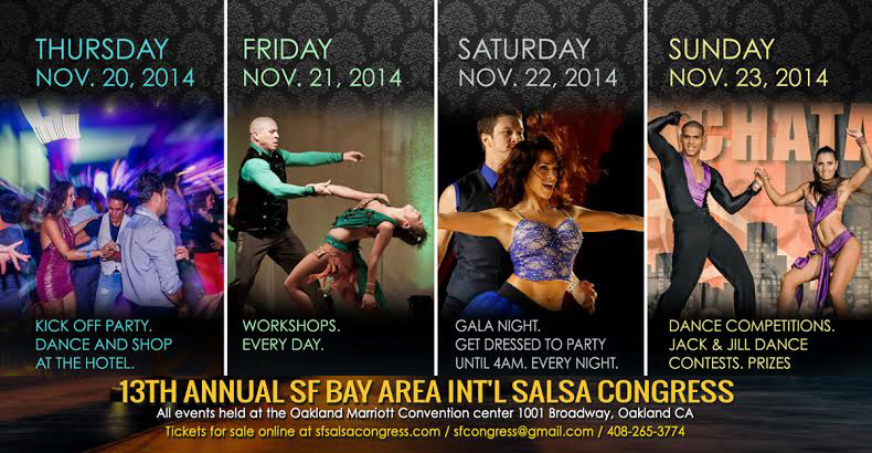 2014 San Francisco Salsa Congress