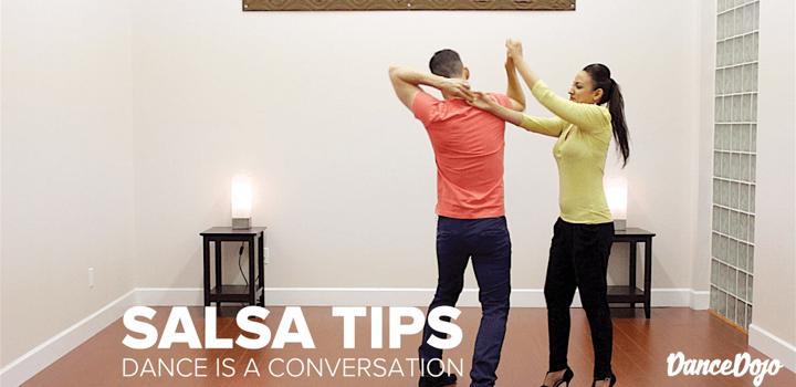 Salsa Tip Social Dancing Conversation Dance Dojo