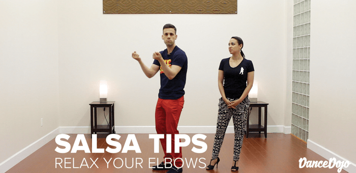 Relax Your Elbows Salsa Tip Dance Dojo