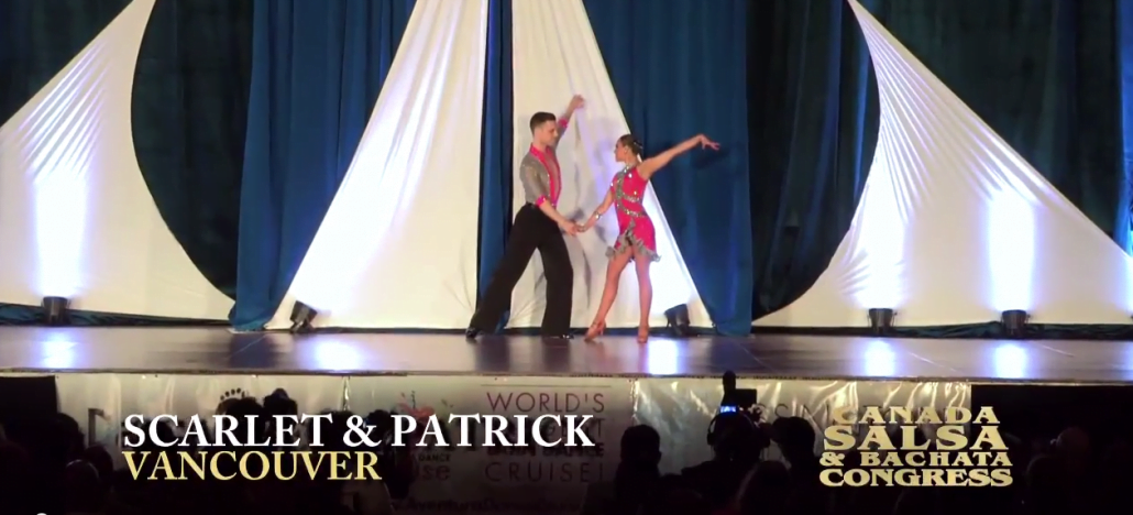 Patrick Scarlet Canada Salsa Congress 2014 Performance