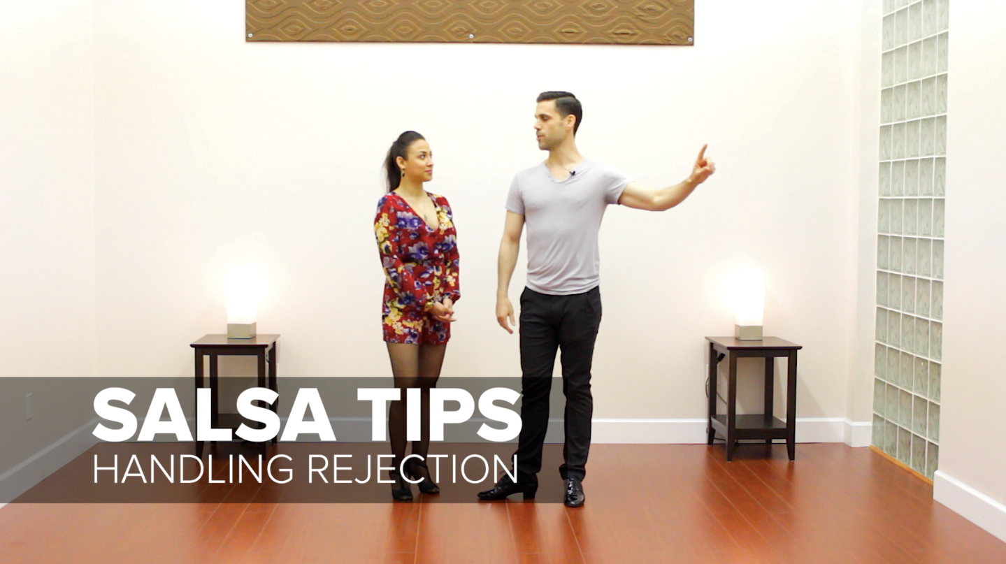 Salsa dancing tip for men handling rejection