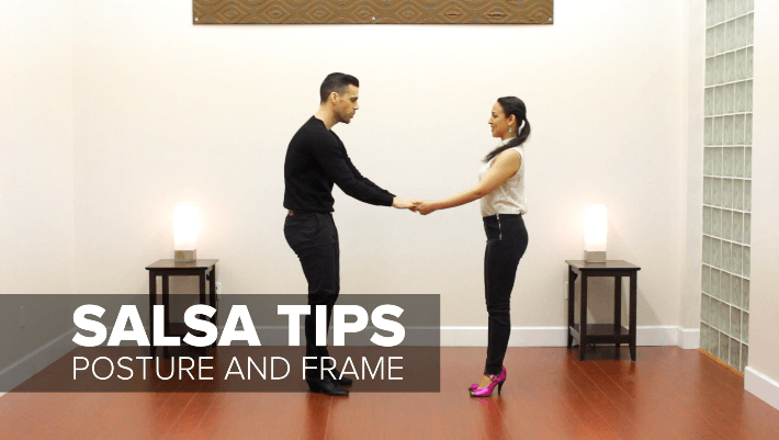 salsa dancing tip fixing salsa posture and frame