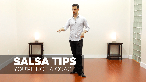 Don't coach your salsa dance partners