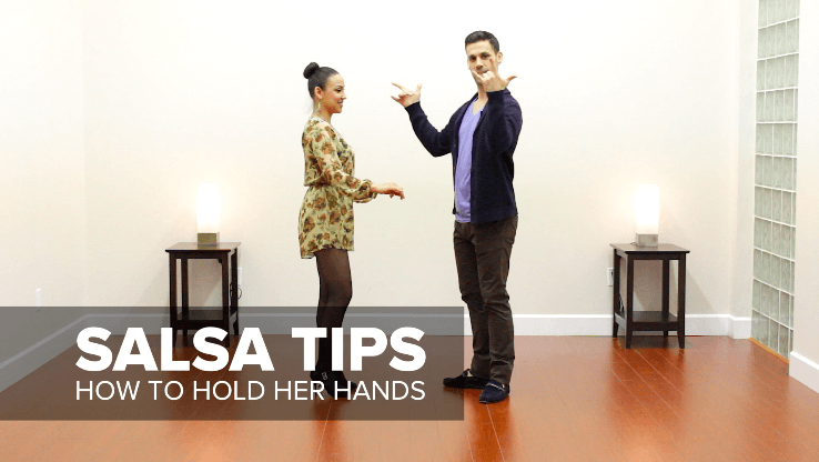 How to hold your salsa partner's hands - salsa tips