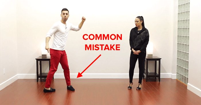 salsa turn technique common mistakes