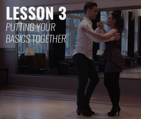 Combing Your Salsa Basic Steps - Learn to Salsa - Dance Dojo