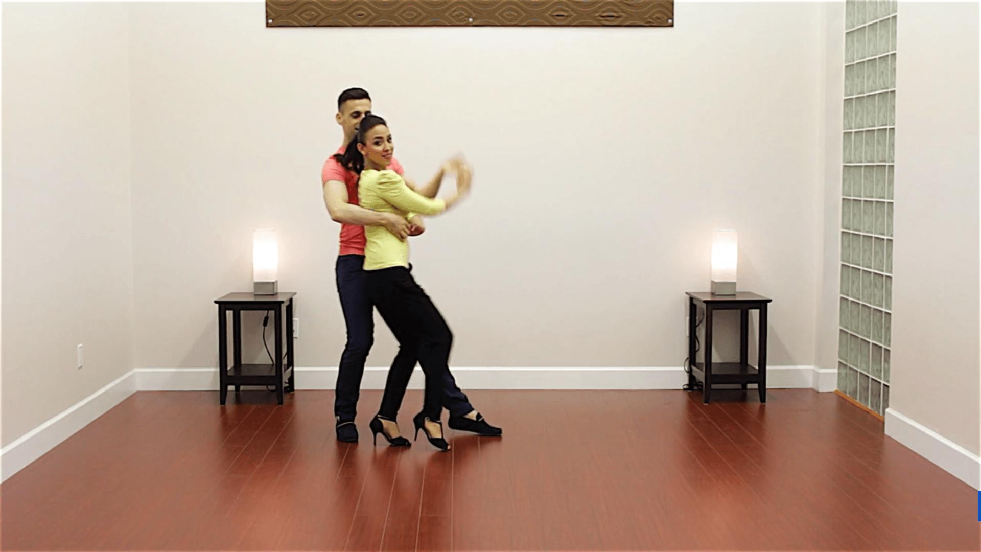 Advanced Salsa pattern Buena Onda by Dance Dojo